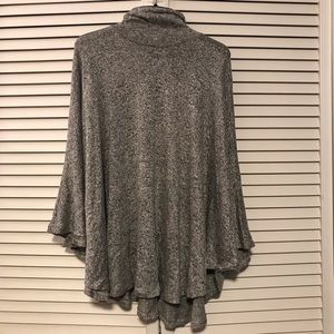 Forever21 Heather Gray Poncho